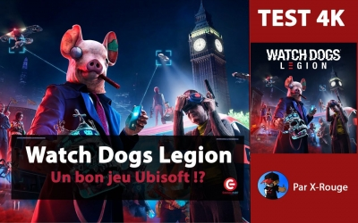 Test vidéo [TEST / REVIEW] Watch Dogs : Legion, Un bon jeu Ubisoft ?